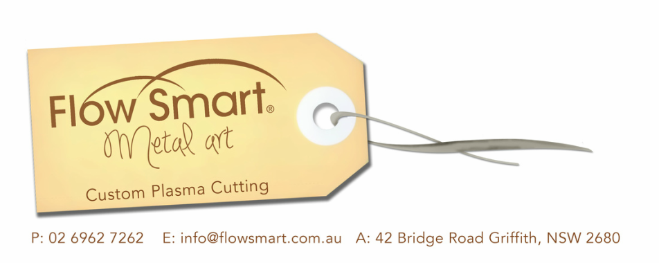 Flow Smart Metal Art